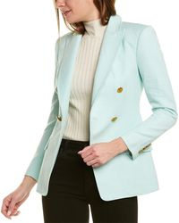 A.L.C. Sedgwick Ii Linen-blend Jacket - Green
