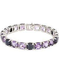 David Yurman - David Yurman Chatelaine Silver 0.55 Ct. Tw. Diamond & Gemstone Bracelet - Lyst