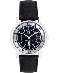 BVLGARI Bulgari 2000s Men's Solotempo Watch - Black