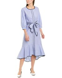 J.Crew Shirtdress - Blue