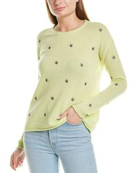 Lisa Todd High Notes Cashmere Jumper - Yellow