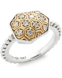 Stephen Dweck - Diamond & 18k Yellow Gold Ring - Lyst