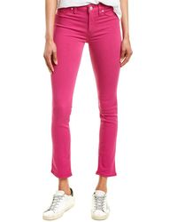 Hudson Jeans Nico Magenta Skinny Leg - Pink