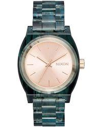 Nixon The Time Teller Watch - Green