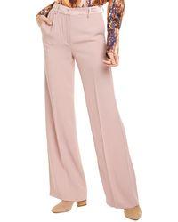 Les Copains Crepe Pant - Pink