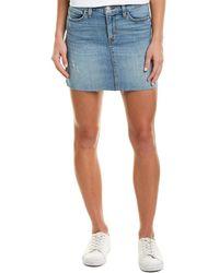 Hudson Jeans Vivid Mini Skirt - Blue