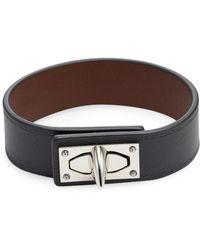 Givenchy - Leather Bangle Bracelet - Lyst