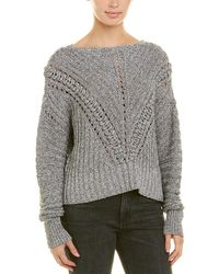Rag & Bone Roman Sweater - Gray