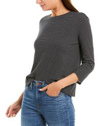 Vince 3/4-sleeve Top - Blue