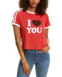 Rebecca Minkoff I Heart You Heather T-shirt - Red
