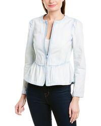 Rebecca Taylor Peplum Jacket - White