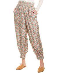 Tory Burch Printed Pyjama Pant - Multicolour