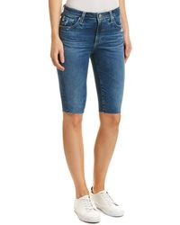 AG Jeans The Brooke 14 Years Ablaze Bermuda Short - Blue