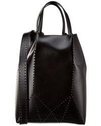 Alaïa Leather Bucket Bag - Black