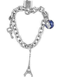 Louis Vuitton Louis Vuitton 18k Diamond Charm Link Bracelet - Multicolour