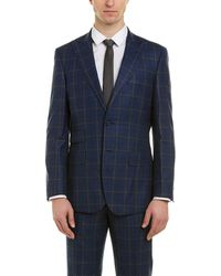 English Laundry Wool Suit - Blue