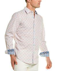 Robert Graham Frenzy Woven Shirt - White