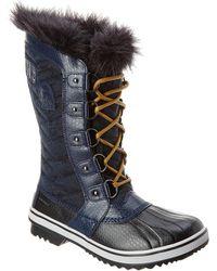 Sorel Women S Tofino Ii High Waterproof Faux Fur Boots - Blue