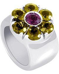 Pasquale Bruni 18k Gemstone Ring - Metallic