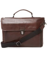Frye - Stanton Top Handle Briefcase - Lyst