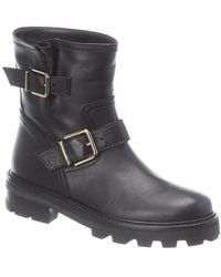 Jimmy Choo Youth Ii Leather Boot - Black