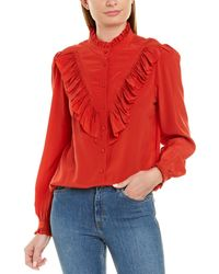 Zadig & Voltaire Taccora Silk Blouse - Red