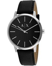 Armani Exchange Men's Classic Watch - Black