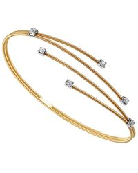 Sabrina Designs 18k 1.00 Ct. Tw. Diamond Bangle - Metallic