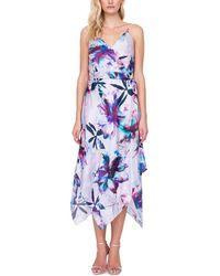 Gottex Standard Wrap Beach Dress Swimsuit Cover Up - Blue