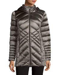 Saks Fifth Avenue - Missy Packable Quilted Jacket - Lyst