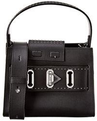 SALAR MILANO - Ludo Leather Shoulder Bag - Lyst