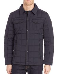 Tumi - Quilted Long Sleeve Jacket - Lyst