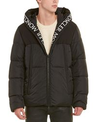 Moncler - Hooded Padded Down Coat - Lyst