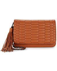 Aimee Kestenberg Medina Leather Crossbody - Brown
