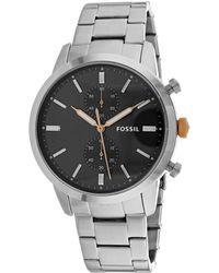 Armani Exchange Armani Men's Townsman Watch - Metallic
