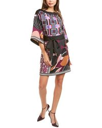 Trina Turk Typicity Shift Dress - Purple