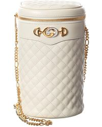 Gucci Interlocking G Quilted Leather Belt Bag - Multicolour