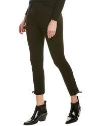 Rag & Bone Simone Lace-up Cropped Pants - Black