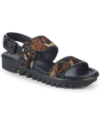 Giuseppe Zanotti - Nappa Strapped Leather Sandals - Lyst