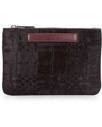 DANNIJO - Leather Zip Around Pouch - Lyst
