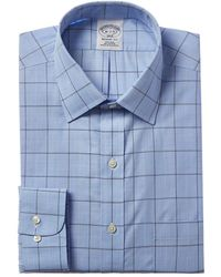 Brooks Brothers Regent Fit Dress Shirt - Blue
