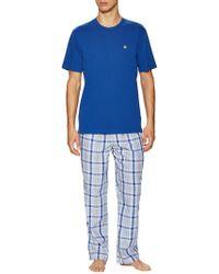 Brooks Brothers - Loungeset Multi Plaid Pajama Pants - Lyst