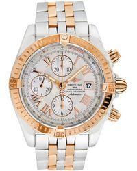 Breitling 2000s Men's Chronomat Evolution Watch - Metallic