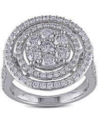 Rina Limor 14k 1.96 Ct. Tw. Diamond Statement Ring - Metallic