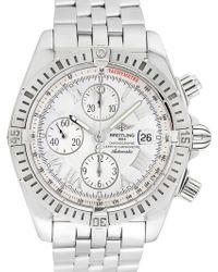 Breitling - Vintage Breitling Chronomat Evolution Stainless Steel Watch, 43mm - Lyst