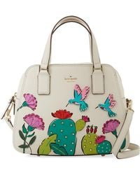 Kate Spade Scenic Route Cactus Holly Small Satchel - Multicolour