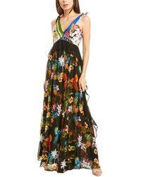 Pinko Torina Maxi Dress - Black