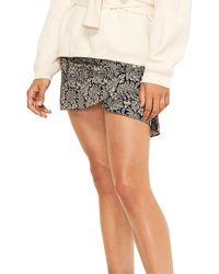 Ba&sh Foster Mini Skirt - Black