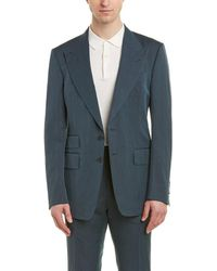 Tom Ford - Shelton 2pc Linen , Silk, & Wool-blend Suit With Flat Pant - Lyst
