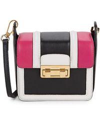 Lanvin Small Lala Leather Crossbody Bag - Pink